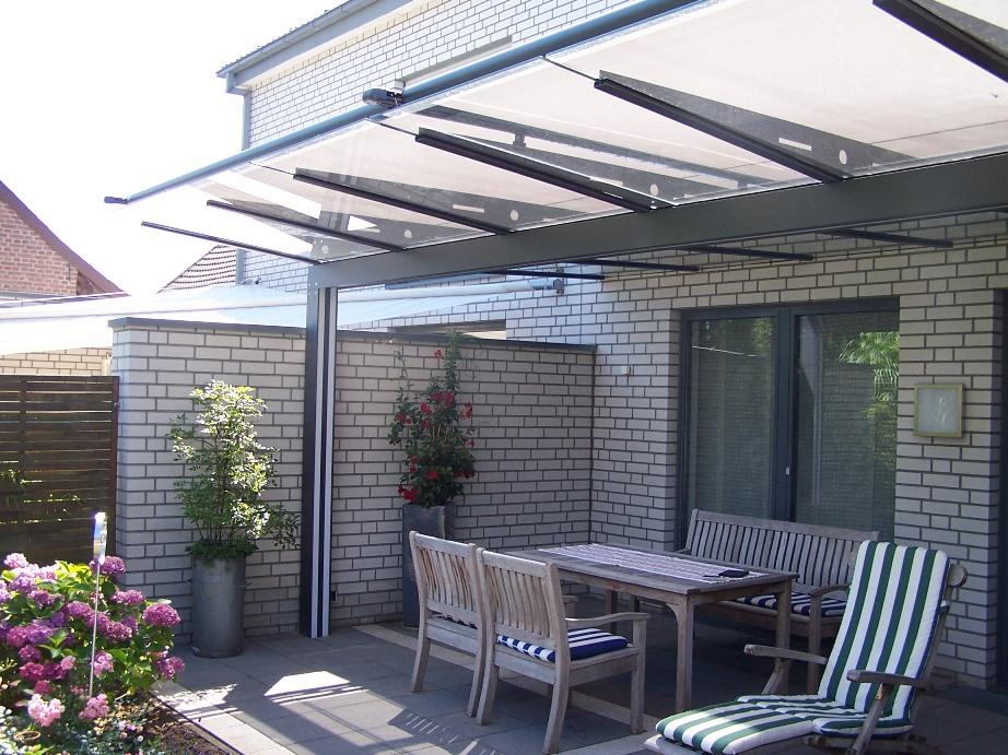 sonnenschutz glasdach und terrassend cher by gladius. Black Bedroom Furniture Sets. Home Design Ideas